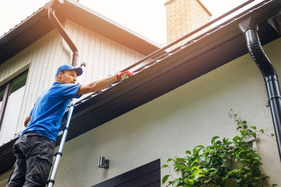 Gutter Cleaning by Curry Painting Company
