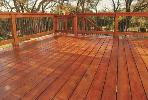 Curry Painting Company Deck Staining