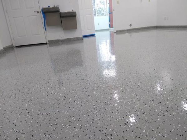Warehouse Epoxy Floor Coating in Palm Beach, FL (1)