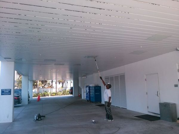 Commercial Ceiling Repainting in Boca Raton Florida (1)