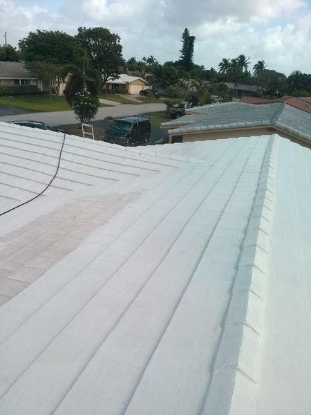 Roof Painting in Deerfield Beach Florida (1)