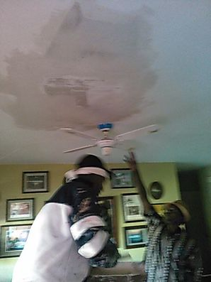 Ceiling sheetrock patching in Deerfield Beach Florida. (1)