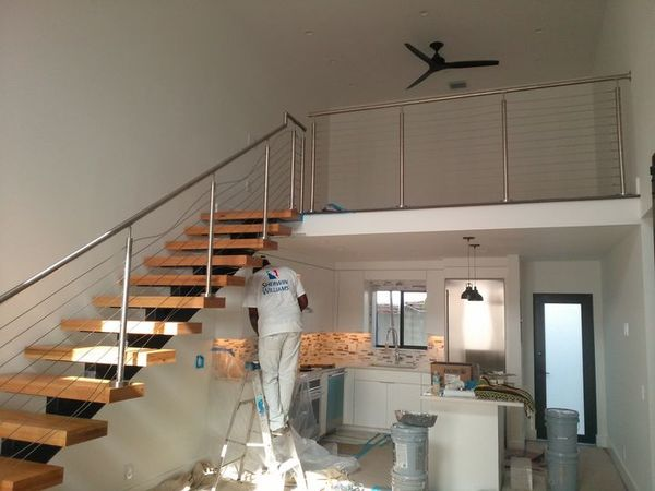 Interior painting in Princeton, FL by Curry Painting Company.