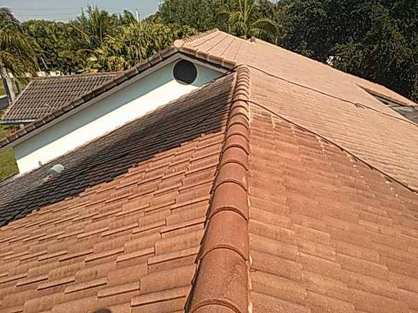 Pressure Cleaning Roof in Boca Raton, FL (1)