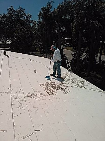 Recoating of Roof in Boca Raton, Fl (1)